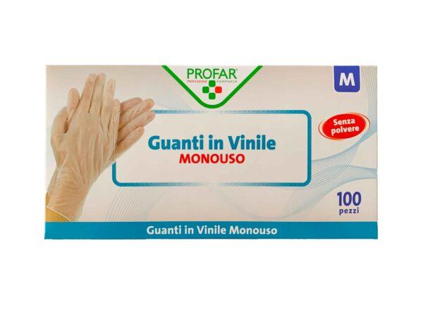Guanti in Vinile GIMA FactorFarma - M